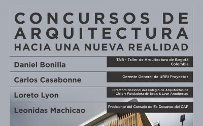 Conversatorio Concurso de Arquitectura Hacia una Nueva Realidad