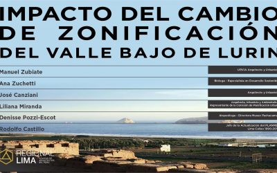 Conversatorio: Impacto del Cambio de Zonificación del Valle Bajo de Lurín | NotiCAPLima 084-2021