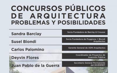Concursos Públicos de Arquitectura: problemas y posibilidades